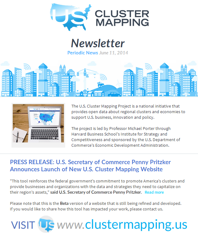 Marketing Materials US Cluster Mapping - Us cluster mapping