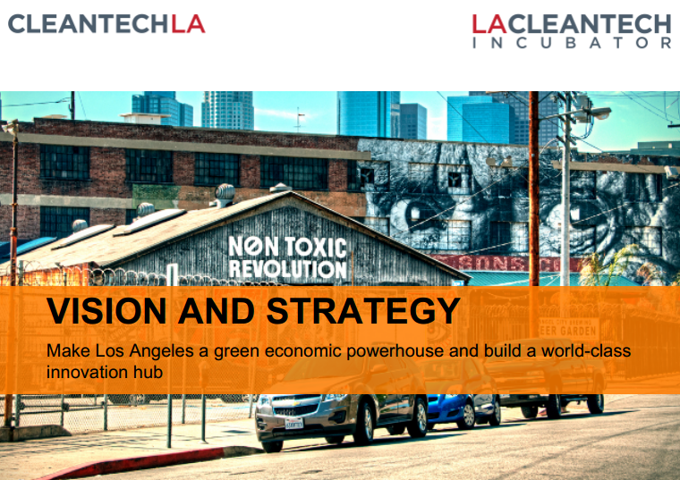 building an innovation economy in los angeles for